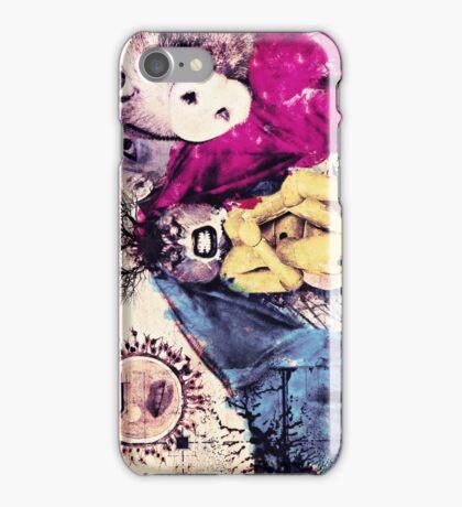 Tthe nature loves plastic idiots iPhone Case/Skin