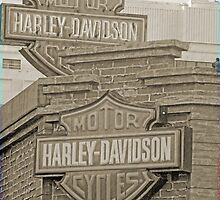 Vintage Harley Sign by kkphoto1