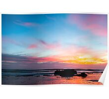 Sunset Handry's Beach Poster