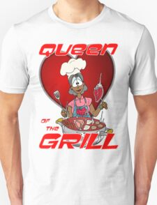 Queen of the Grill Black T-Shirt