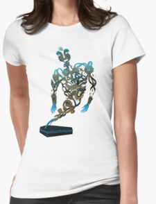 Tattoo Ghost's Ink Memories Womens Fitted T-Shirt