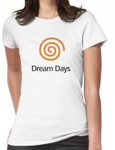 Dreamcast (Old School Shirt) Version.03 Womens Fitted T-Shirt