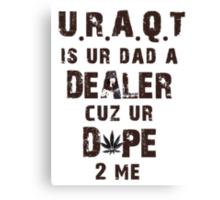 URAQT - M.I.A. Canvas Print