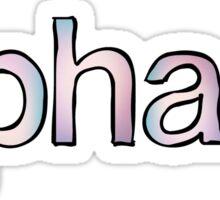 Alpha Xi Fade Sticker