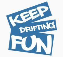 Keep Drifting Fun - Blue by GKuzmanov