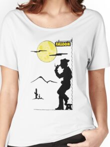 Cowboy Saloon Women's Relaxed Fit T-Shirt