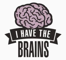 I have the brains Kids Tee