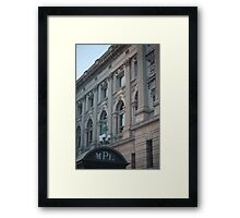 Milwaukee Public Library Framed Print