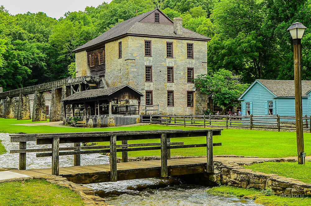 Spring Mill by Mary Carol Story