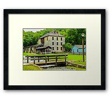 Spring Mill Framed Print