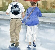 Just Walkin in the Rain by Marsha Elliott