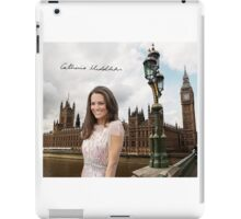 Kate Middleton and the Houses of Parliament iPad Case/Skin