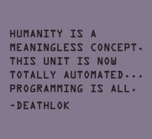 Humanity is a Meaningless Concept. by Megatrip