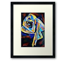 """""""Inner reality"""" Framed Print"""