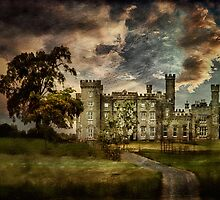 The Castle Aquarel by EmvandeBee