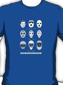 Goalie Masks T-Shirt