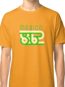 Retro Mexico '86 vintage soccer shirt Classic T-Shirt