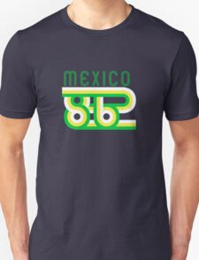 Retro Mexico '86 vintage soccer shirt Unisex T-Shirt