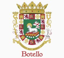 Botello Shield of Puerto Rico One Piece - Long Sleeve
