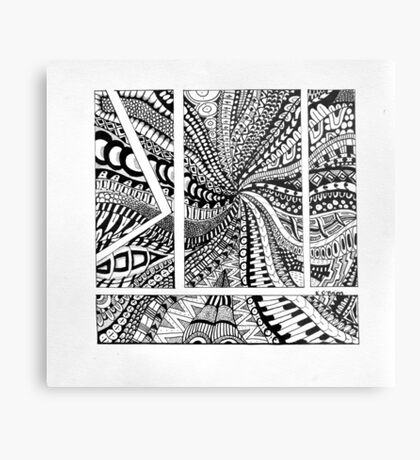 Patterns Galore Metal Print