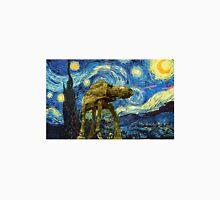 Vincent van Gogh's Starry Night Meets Star Wars Unisex T-Shirt