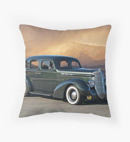1936 Buick Sedan Throw Pillow