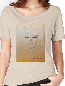 Marilyn, Beautiful Women's Relaxed Fit T-Shirt
