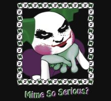 Mime So Serious? Kids Clothes