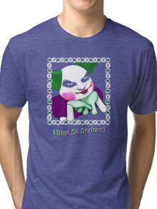 Mime So Serious? Tri-blend T-Shirt