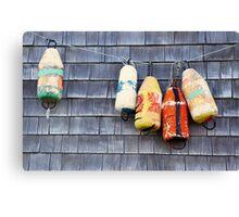 Buoys Canvas Print