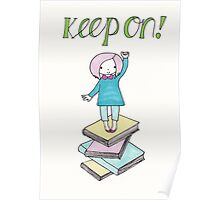 Keep On Reading!! Poster