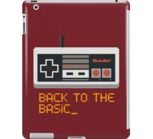 back to the basic_ iPad Case/Skin