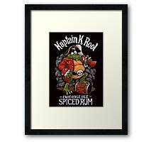 Kaptain's Rum Framed Print