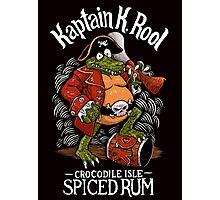 Kaptain's Rum Photographic Print