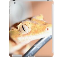 Reptiles eyes tell a story iPad Case/Skin