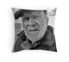 Old Man of the Sea. Throw Pillow