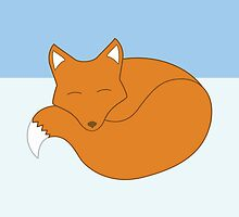 Sleepy Fox by Styl0