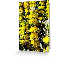 And It Was All Yellow Greeting Card