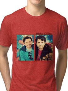 Misha Collins Tri-blend T-Shirt