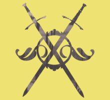 Crossed Swords Baby Tee