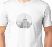the lonely church Unisex T-Shirt