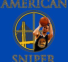 Steph Curry - American Sniper by sinkko