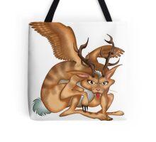 Wolpertinger (brown) Tote Bag