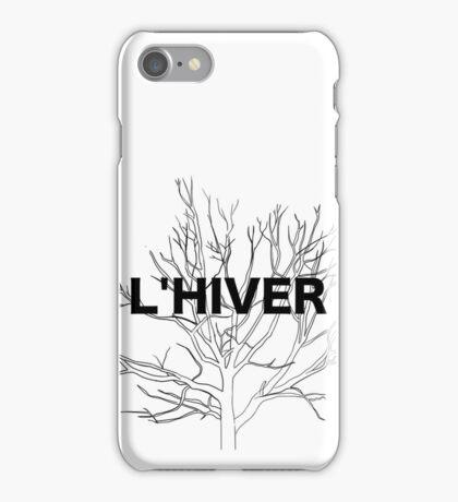 l'hiver iPhone Case/Skin