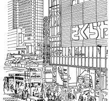 Tokyo - Shinjyuku by parisiansamurai