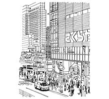 Tokyo - Shinjyuku Photographic Print