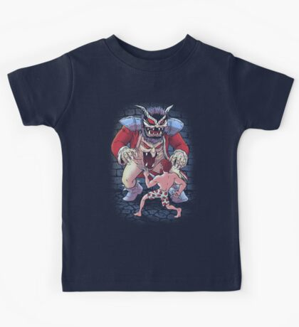 Super Knights and Demons Kids Tee
