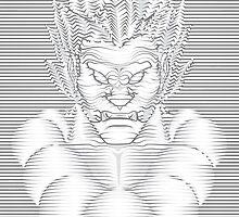 Akuma Waveform Evil Intent by williamfocus