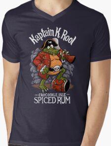 Kaptain's Rum Mens V-Neck T-Shirt