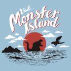 Monster Island by AustinJames